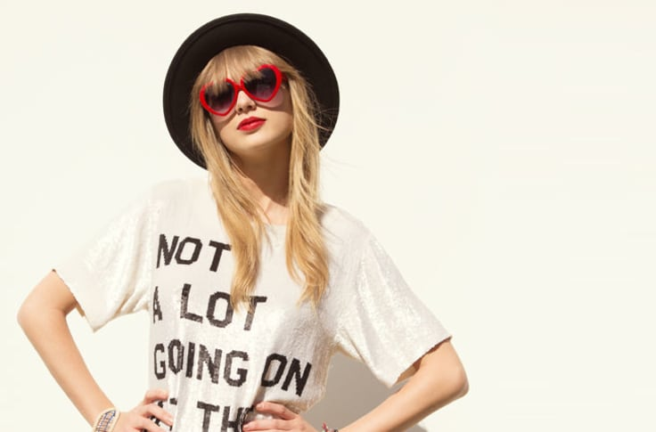 Taylor Swift's t-shirt from the '22' song