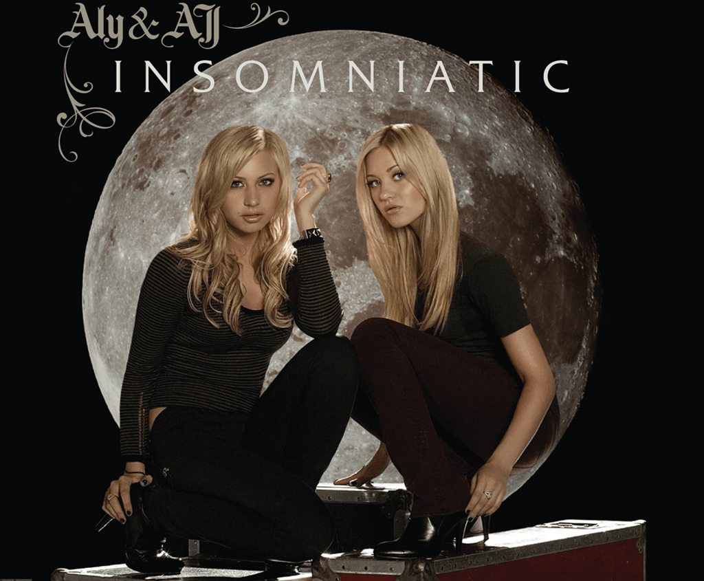 Aly & AJ on the Cover of Their 2007 Insomniatic Album