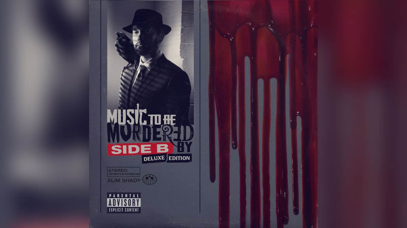 """Music To Be Murdered By: SIde B"" album cover"